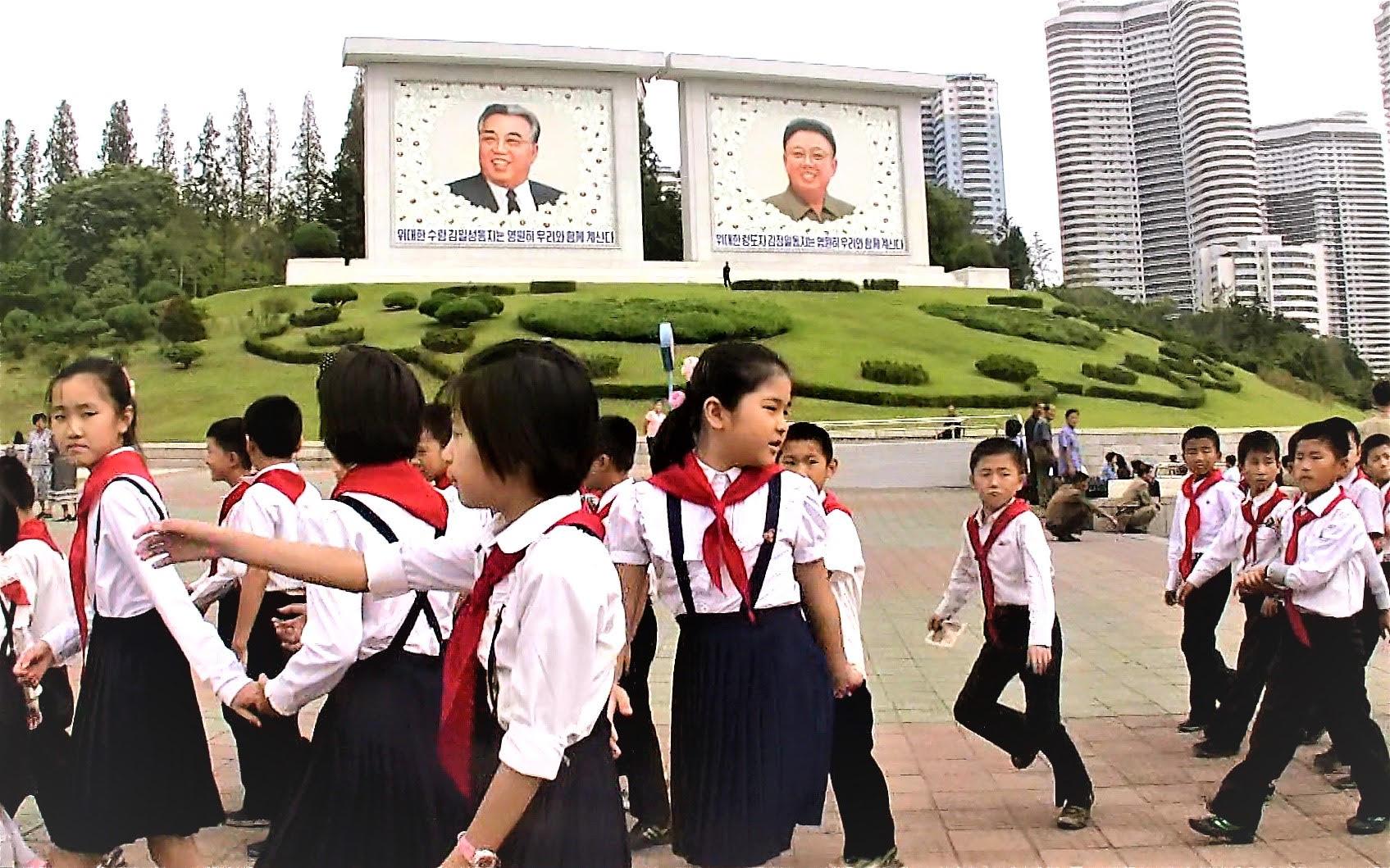 北朝鮮の超新世代の子供たち