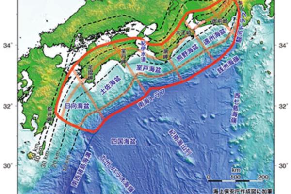 南海トラフ地震と原子力防災